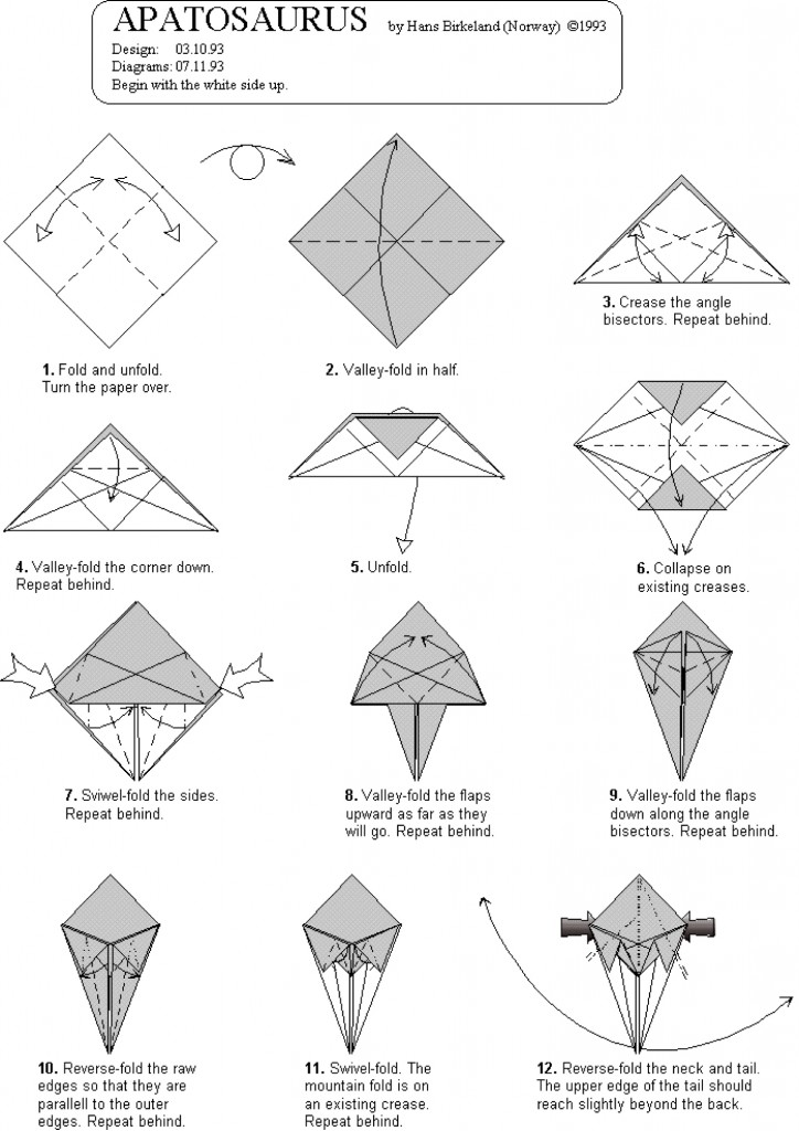 Origami_Apatosaurus_1