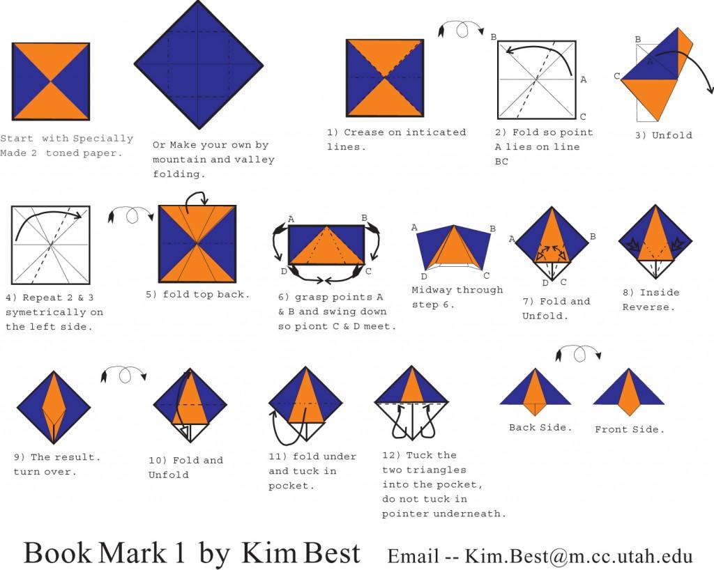 Origami_Bookmark_1