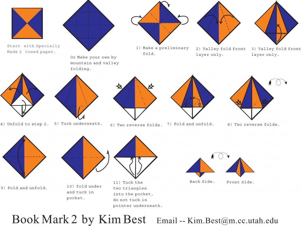 Origami_Bookmark_2