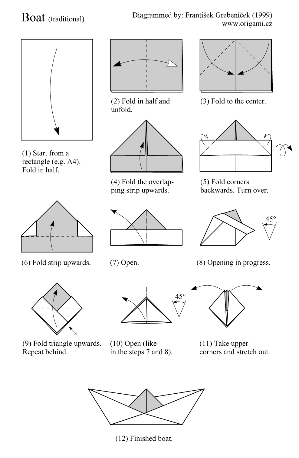 how to make a paper boat Place the boat on a large piece of paper and lay the yard in place – we're going to make the pattern for the sail hold the yard in place but slide the boat out and draw a triangle shape for.