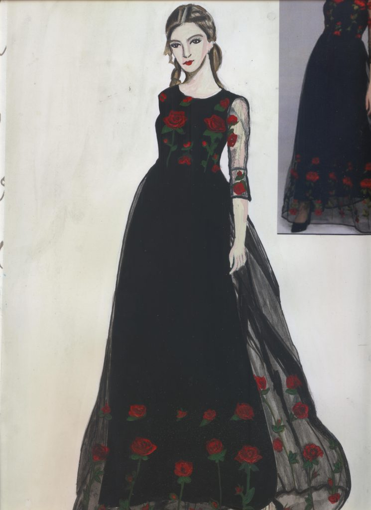 Fashion Illustrations Arch College Of Design Business