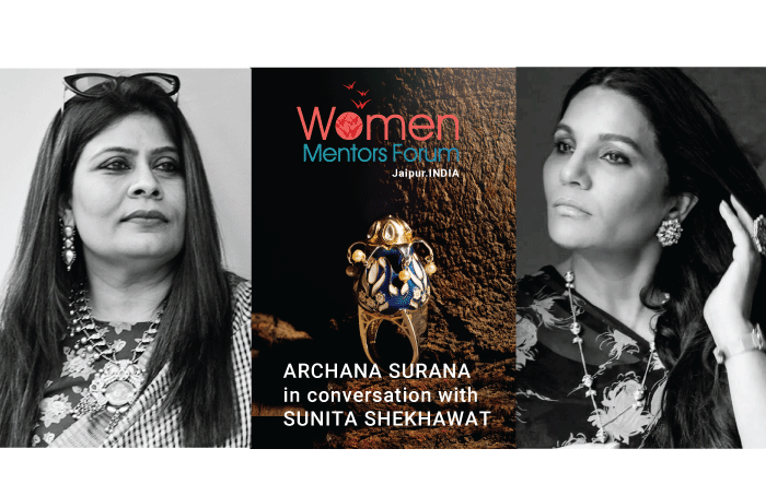 Mentoring Dialouge Series with Ace Jewellery Designer Sunita Shekhawat