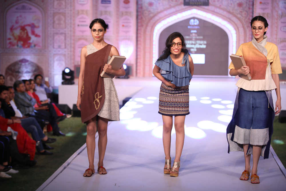 Annual Fashion show of the Times of India