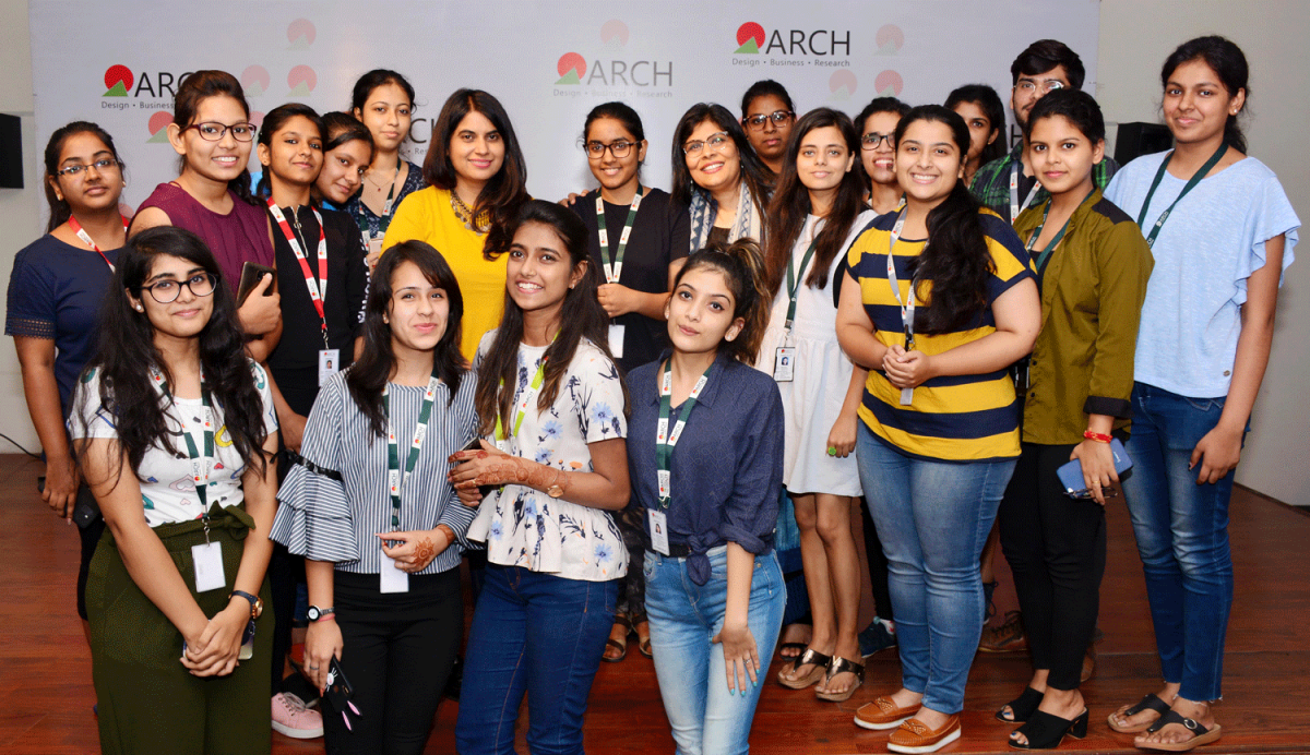 Masterclass by ace Fashion Designer Pratima Pandey