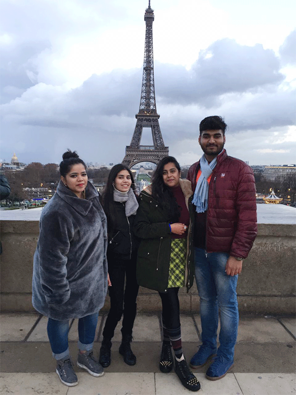 Exploring Design Globally!! Student exchange program to Paris