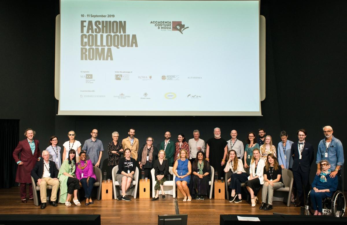 Fashion Colloquium 2019, Rome