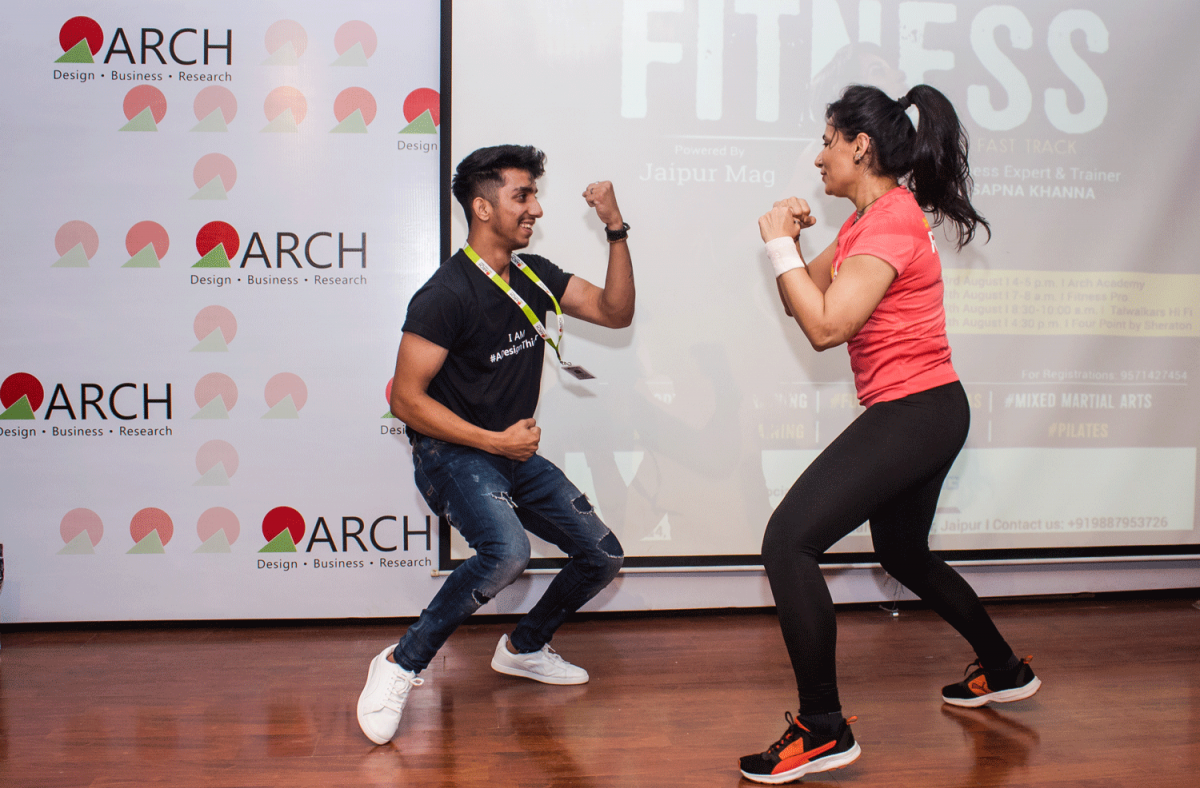 Making People Health Conscious- Fitness Session by Sapna Khanna