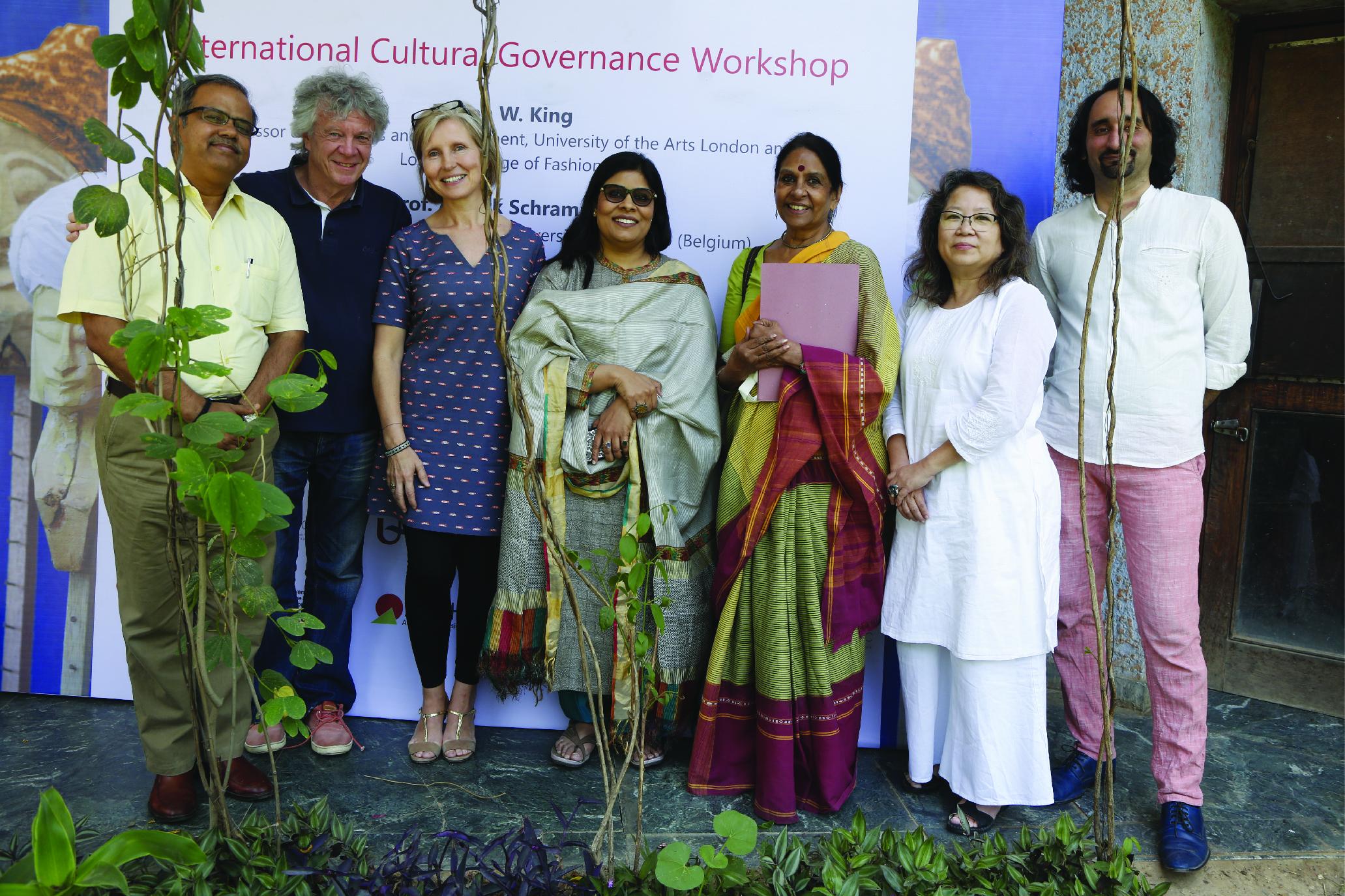 International Cultural Governance workshop in Delhi