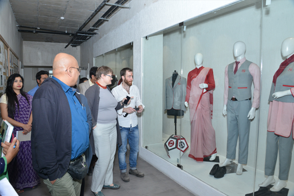 Delegation from UK Universities at ARCH Academy of Design