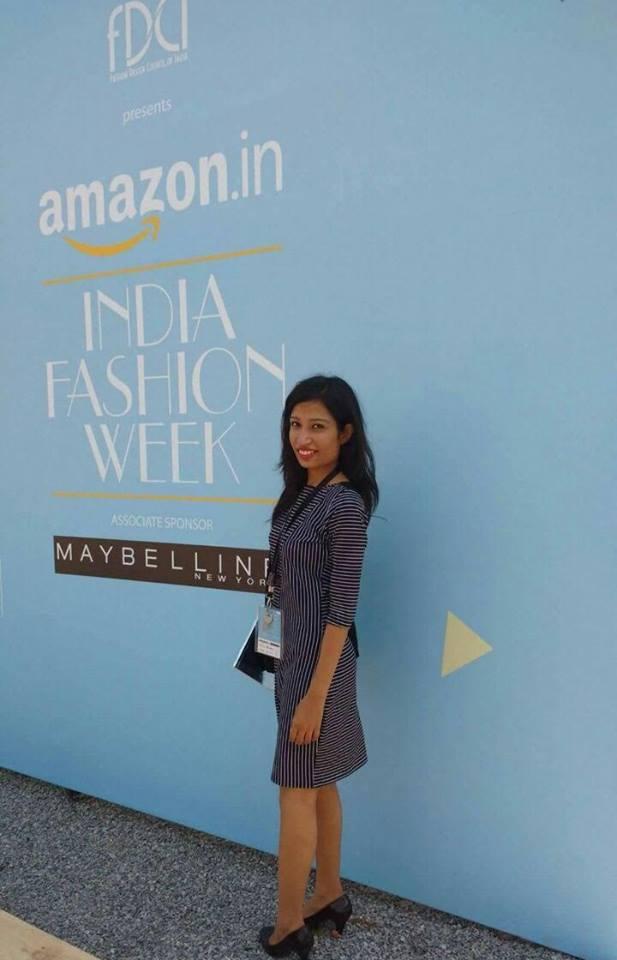 Arch students visit Amazon Fashion Week 2016