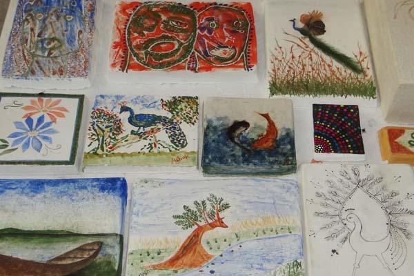 Workshop on Arayash (Fresco) Painting