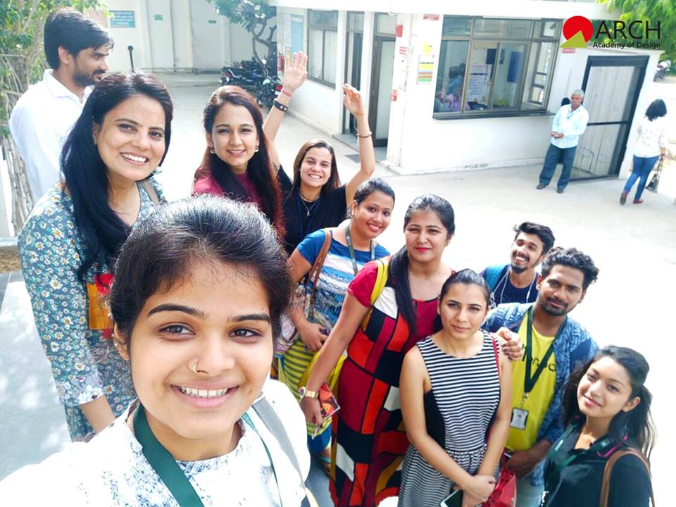 Industry Visit by Fashion Design Students