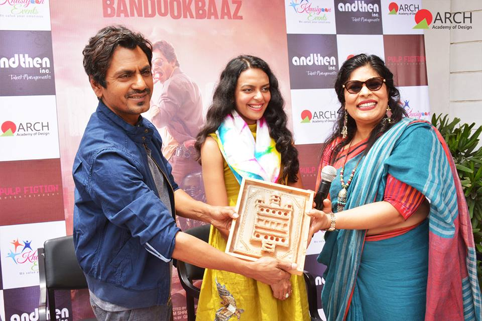 B. DES Launch with NAWAZUDDIN SIDDIQUE and Other Guests