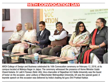 16th Convocation Day