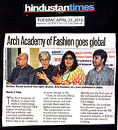 Arch Academy of Fashion goes Global