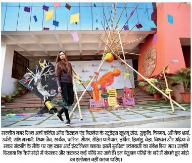 Makar Sankranti Art Installation @ARCH