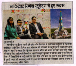 Architect Rimpesh Interacting with Arch Students