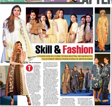 The India Industrial Fair Fashion Show (DNA)