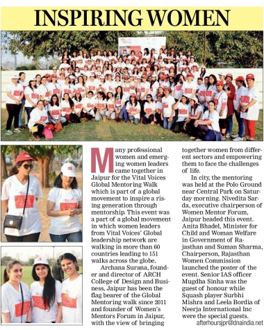 Global Mentoring Walk 2018 (DNA)
